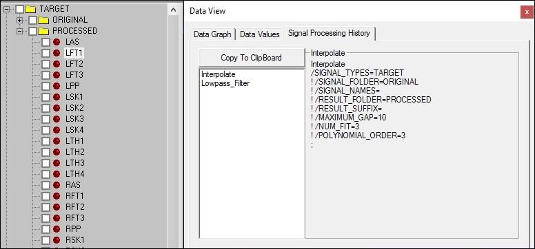 Tutorial: Signal Processing - Visual3D Wiki Documentation
